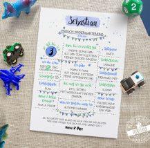 Kindergartenstart oder Schulbeginn - die perfekte Erinnerung unsere Meilensteintafeln
