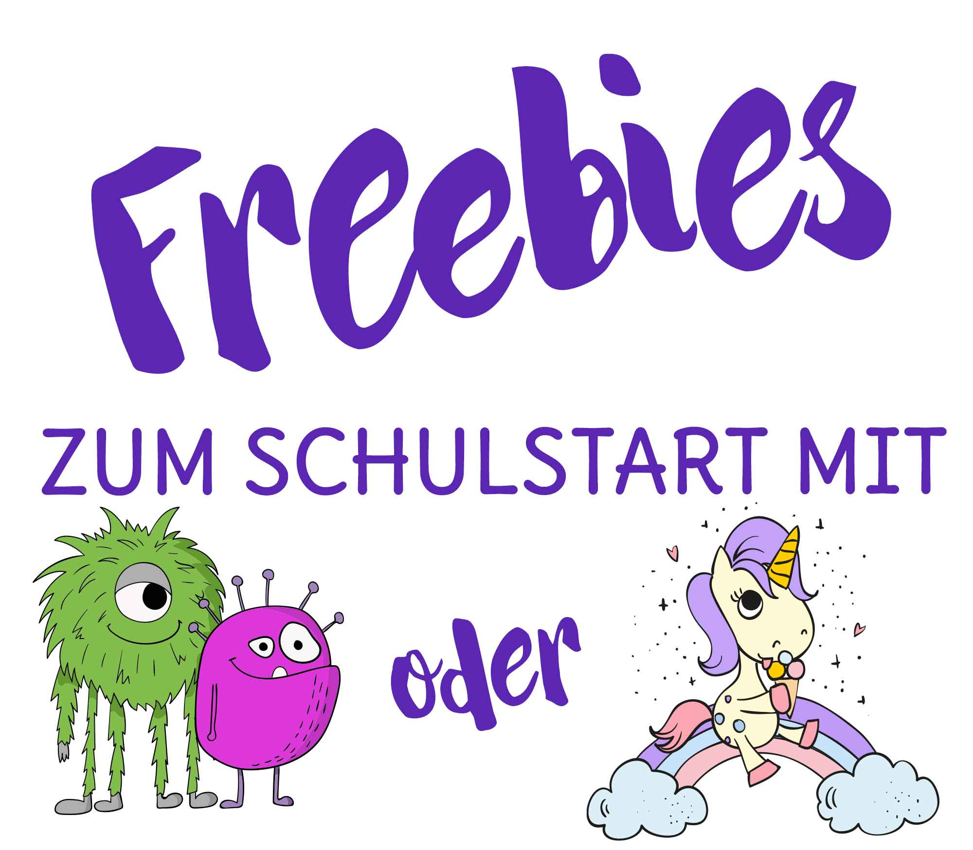 Freebies zum Schulstart