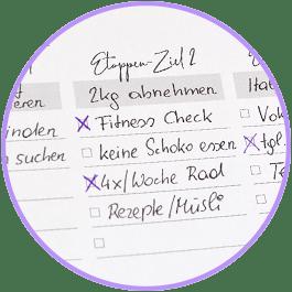 Fokusplaner Etappenziele