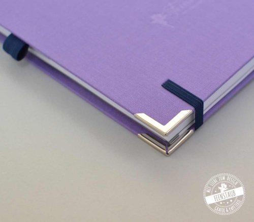 Kalender 2021 in A5 lila und blau