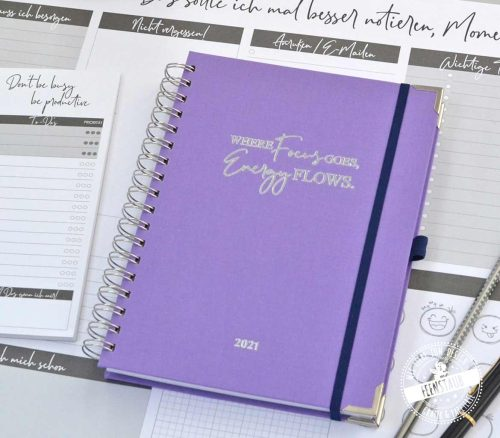 Kalender 2021 Fokus Planer