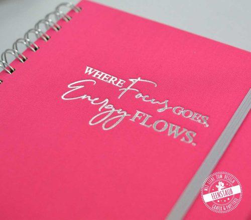 Where Focus goes, Energy flows - Focus Kalender zum Ziele erreichen