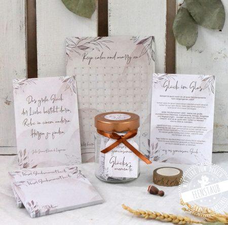 Hochzeitsvorfreude Set - das perfekte Geschenk zur Verlobung!