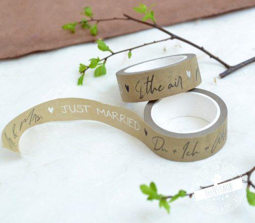 Washi Tape Wedding