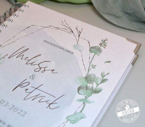 Hochzeitsplaner Buch mit zahlreichen Checklisten, Budgetlisten und Tipps