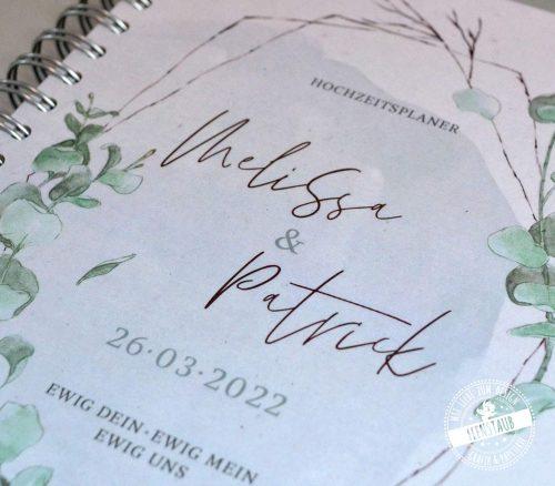 Weddingplaner Buch zur Hochzeitsvorbereitung