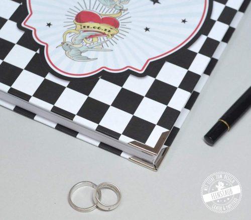 Rockabilly Hochzeitsplanungsbuch