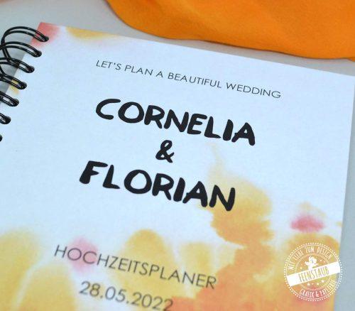 Personalisierbarer Hochzeitsplaner