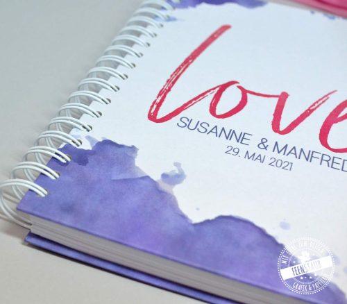 Planungsbuch für deine Hochzeit mit Tipps, Tools, Checklisten und Budgetlisten