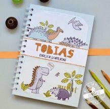 Notizbuch Dinosaurier für Jungen