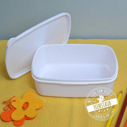 Lunchbox aus Kunststoff mit Namen bedruckbar