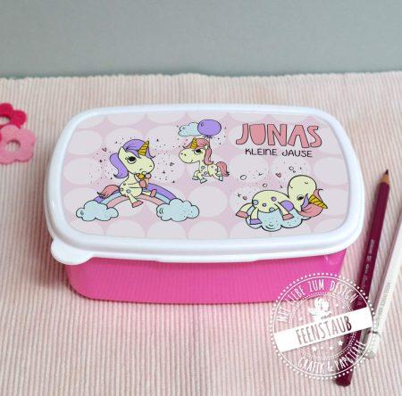 Lunchbox personalisierbar mit Namen Geschenk zur Einschulung
