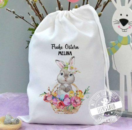 Geschenksäckchen für Ostern, Verpackung Osterfest individuell mit Namen