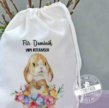Gschenkverpackung zu Ostern mit Namen