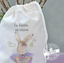 Osterbeutel für Ostergeschenke personalisiert