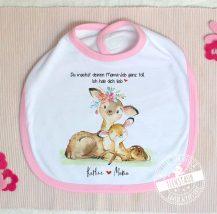 Muttertagsgeschenk von Baby - Lätzchen mit Namen personalisierbar