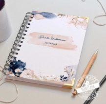 Notizbuch personalisiert kariert glatt gepunkten to-do liste