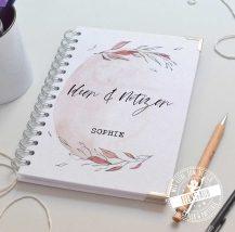 Personalisiere dein Notizbuch, Spiralbindung Farbe, Buchecken, Notizblätter, Cover