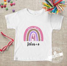 Bügelbild für T-shirts zum Geburtstag personalisierbar