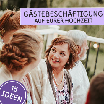 Gäste Beschäftigung auf der Hochzeit 15 Ideen