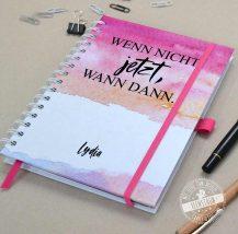 Individueller Taschenkalender in Pink