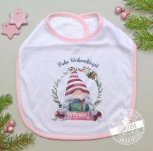 Erstes Weihnachten Baby Lätzchen personalisiert