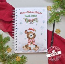 Familienbuch für die Weihnachtszeit, schöne Erinnerungen an Weihnachten sammeln