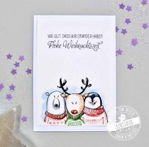 Weihnachtskarten Set zum Verschicken